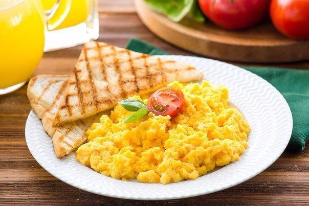 что приготовить на завтрак из яиц и молока
