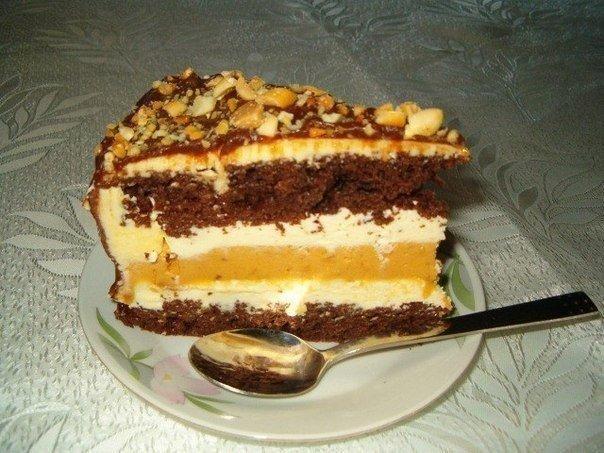 Рецепты домашних тортов с фото пошагово