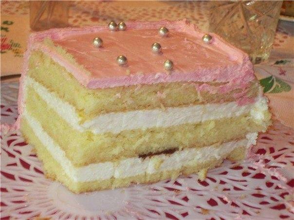 рецепт торта из суфле