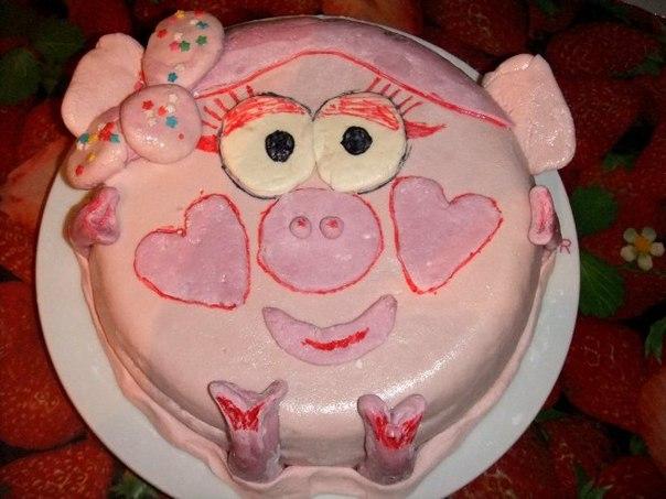 Как самой сделать торт ребенку