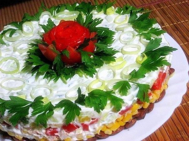 Вкусные салаты к празднику