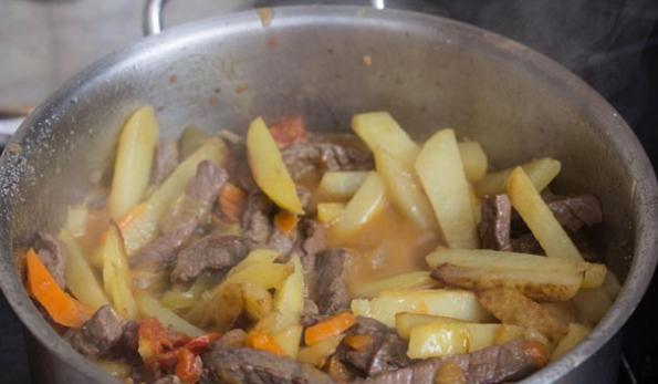 Пошаговый рецепт азу по-татарски рецепт