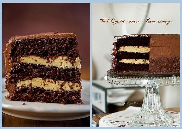 Торт шоколадный влажный рецепт с фото пошагово