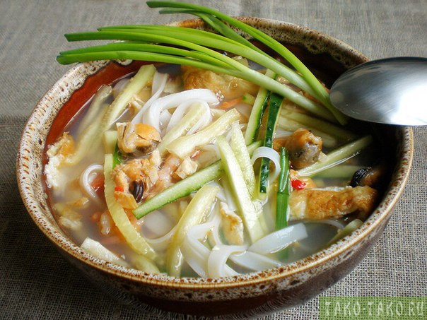 Азиатская кухня лучшие рецепты