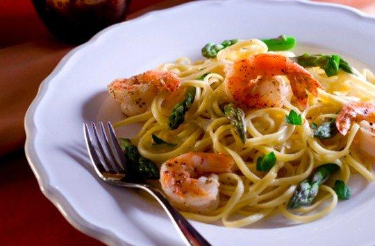 Рецепт спагетти с морепродуктами с фото