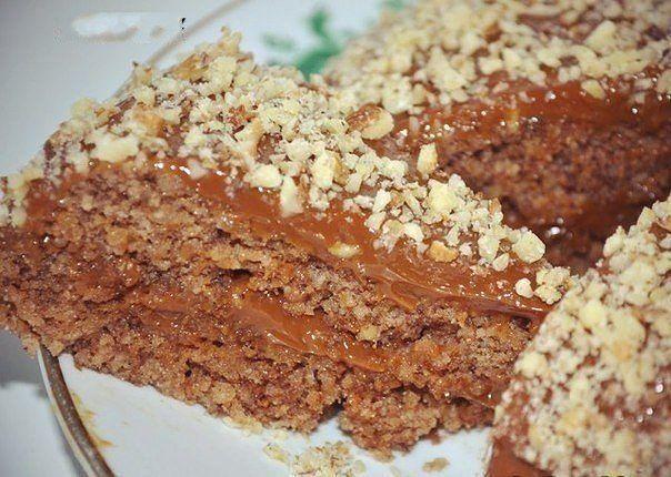 Рецепт с фото ореховый торт