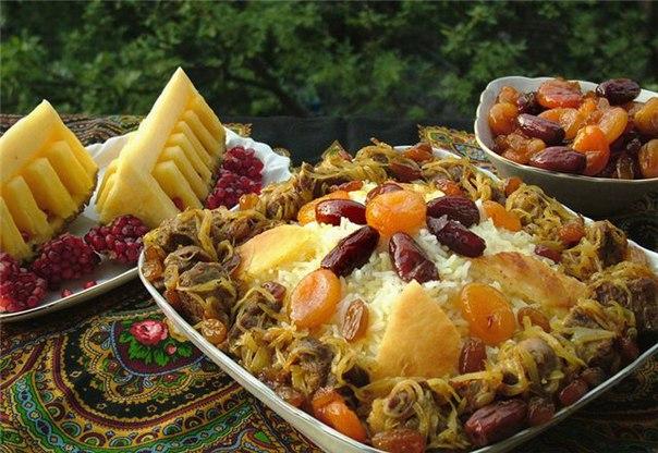 Азербайджанский плов с бараниной и курагой → Восточная кухня → CHEF.tm —  Лучшие рецепты