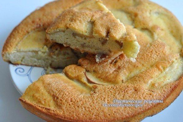 Рецепт шарлотки с бананами и яблоками в духовке рецепт с пошагово в