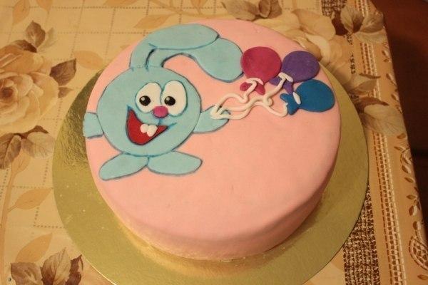 Торт на годик своими руками рецепт с фото