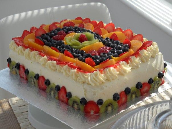 вкусный красивый торт с ягодами и марципаном фото поиск