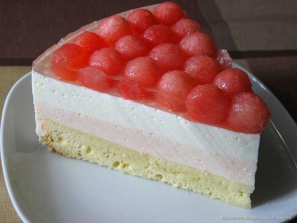 Торт с творогом и желе рецепт пошагово с фото