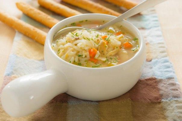Суп рыбный с рисом и картофелем
