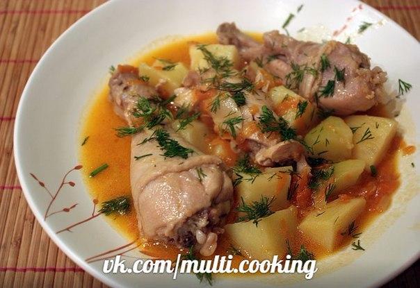 Блюда из тушенки и картошки