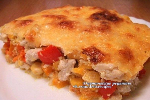 диетические рецепты с куриным филе в духовке