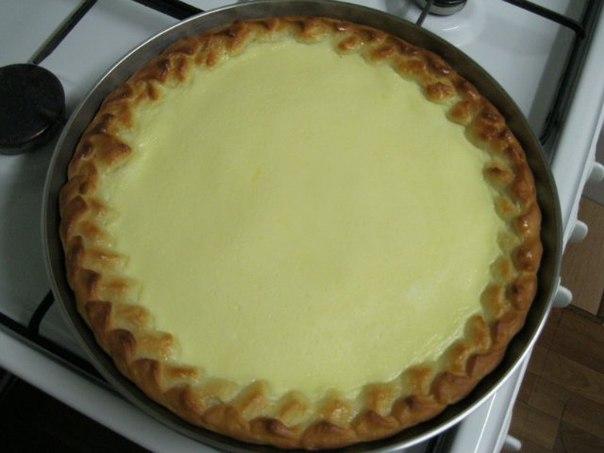 Пироги на сметане  разрыхлитель — 0,5 ч.