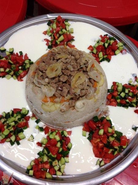 маклюбе рецепт с фото турецкое блюдо образом, часть брюк