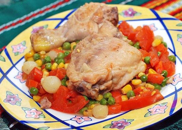 видео рецепты для мультиварки курица с