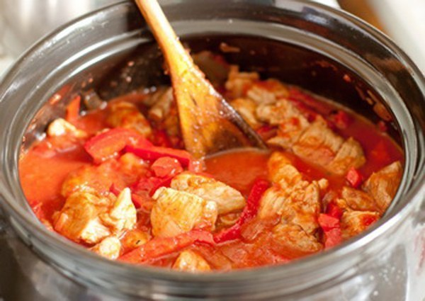 Рецепт как потушить свинину с картошкой