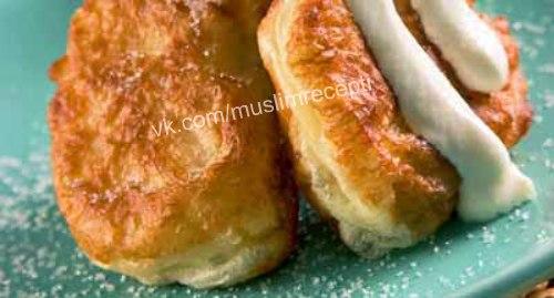Оладьи дрожжевые толстые рецепт с фото