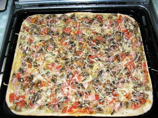 Как дома приготовить пиццу