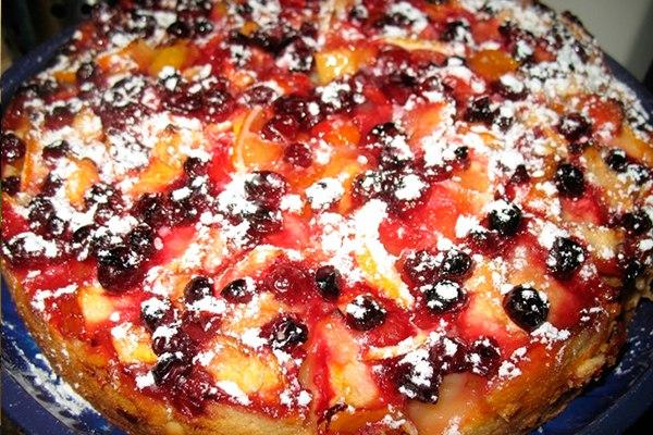Ягодный пирог в мультиварке на кефире рецепты простые и вкусные
