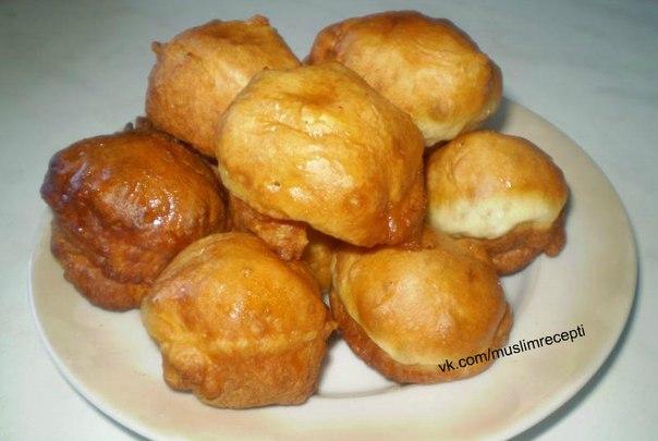 Пончики домашние на кефире с медом