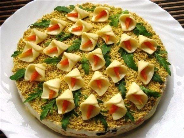 Салаты на день рождения летнее простые и вкусные рецепты