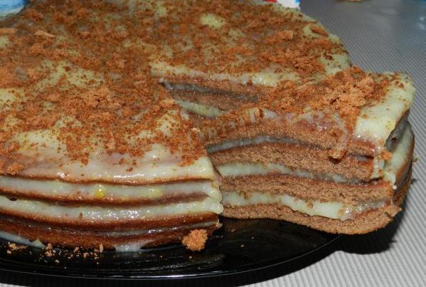Тортик рецепт быстро