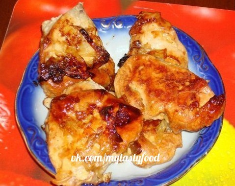 Куриная грудка в соевом соусе в мультиварке рецепты