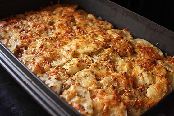 Запеканка с картофелем и мясом в духовке рецепт