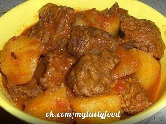Вкусное второе блюдо из говядины с фото