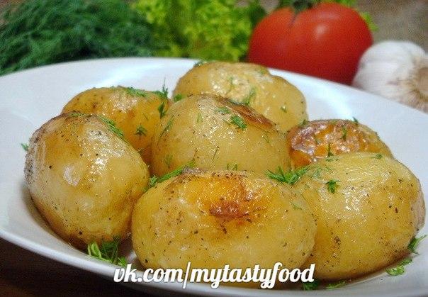 Картофель целый в духовке рецепт