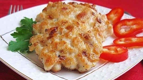Котлеты из рубленного мяса с сыром