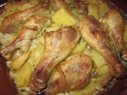 куриные ножки в духовке рецепт с фото