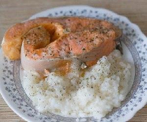 Рыба с рисом на пару в мультиварке рецепты с фото