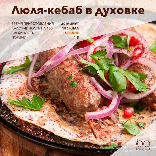 Люля кебаб рецепт с фото пошагово