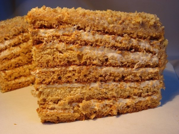 Торт бисквитный рецепт со сгущенкой в домашних  826