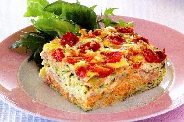 Овощная запеканка диетические рецепты