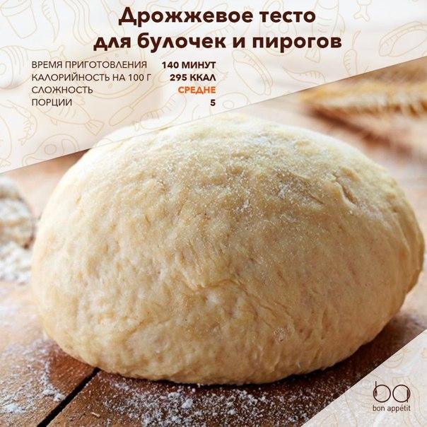 Как приготовить сладкое тесто на булочки