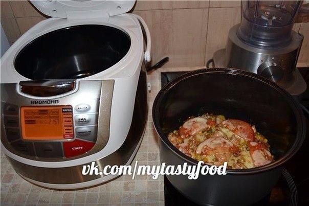 Рис с овощами рецепт с пошагово в мультиварке редмонд