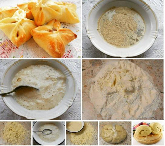 Слоёное дрожжевое тесто рецепт своими руками 57