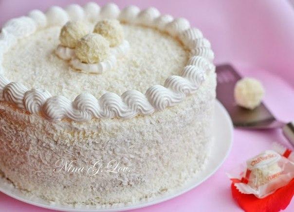 Как сделать начинку для торта рафаэлло