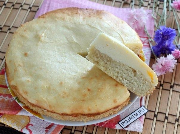 Пирога с творогом в духовке рецепт