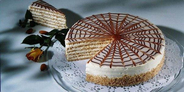 """Торт """"Эстерхази"""" = Торты = CHEF.tm - Лучшие рецепты"""