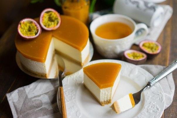 рецепт торт манго пюре