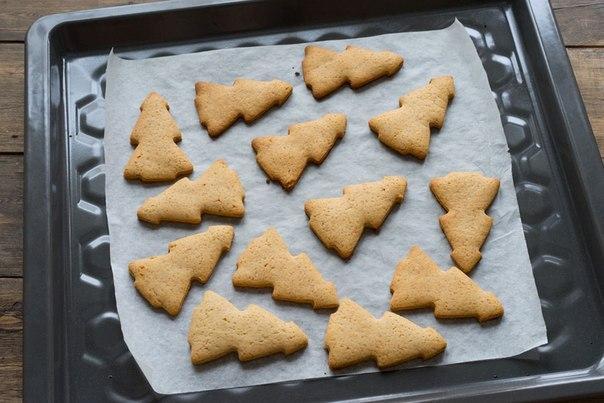 Рецепты рождественского имбирного печенья пошагово