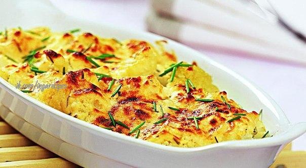 как вкусно приготовить вкусно цветную капусту в духовке