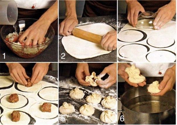 Как приготовить хинкали в домашних условиях пошаговый рецепт с