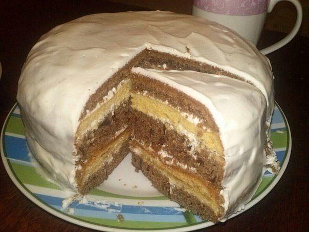 Рецепт торта на кефире в домашних условиях 810
