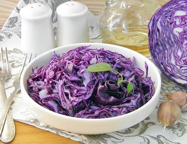 Что приготовить из краснокочанной капусты рецепты